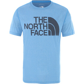 The North Face ATH Flight Better Than Naked SS Shirt Men clear lake blue heather